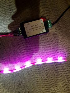 h801 with rgb led